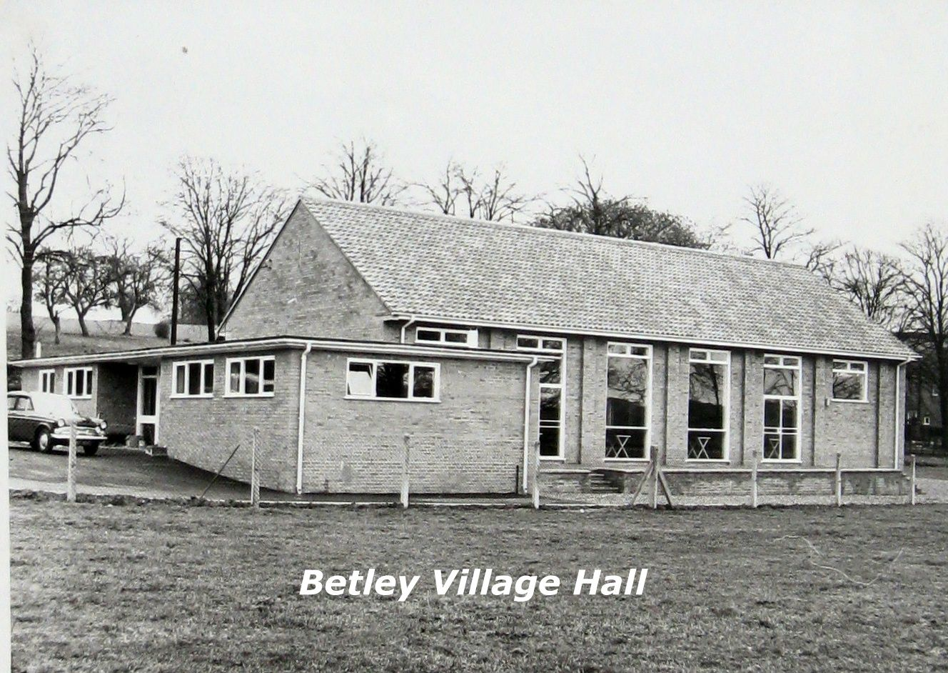 old picture of the hall