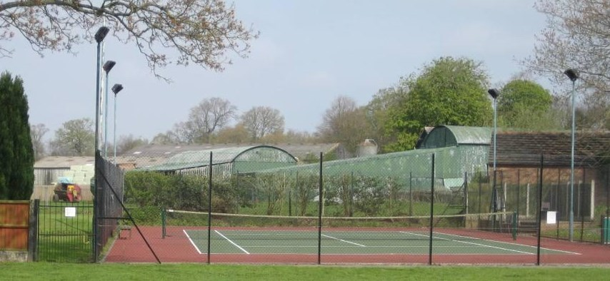 picture of tennis court
